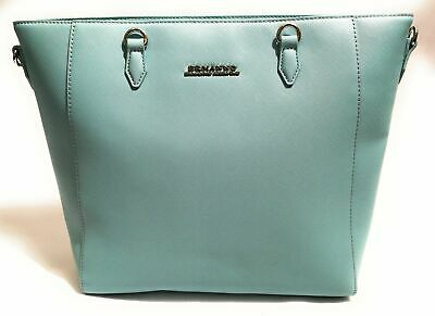Borsa Donna Ermanno Scervino Shopper New Anya Solid Sky Blue Bs18Es46