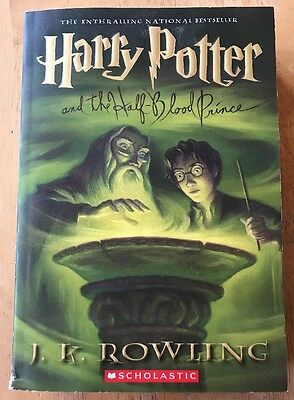 Harry Potter And The Half Blood Prince By J. K. Rowling Paperback Book