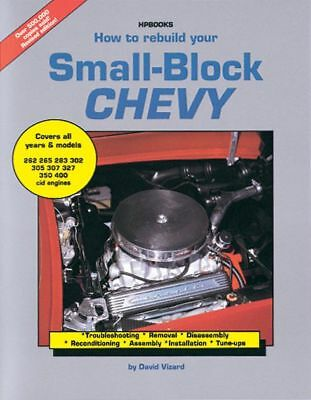 HP Books How to Rebuild your Small-Block Chevy P/N HP1029