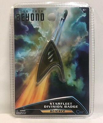 Star Trek Beyond QMx Magnetic Insignia Starfleet Science Division Badge , New
