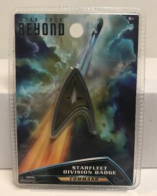 Star Trek Beyond QMx Magnetic Insignia Starfleet Command Division Badge , New