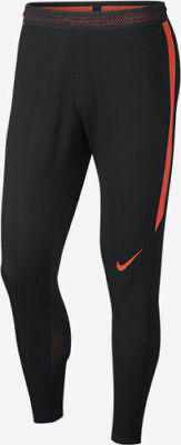 Boys Kids Nike Strike Flex Soccer Pants 832507 010 SIZE L Black Orange