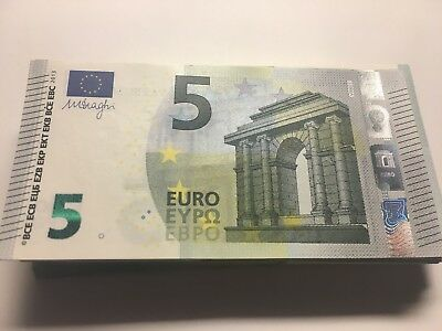 5 EURO banknote EUROPE PAPER BANK REAL MONEY UNC condition