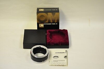New Olympus extension tube 25 with box and instructions