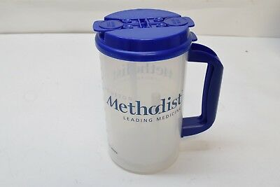 USA Made 32oz Thermo Mug Double Wall Insulated Graduated Hospital Hospice TM-32