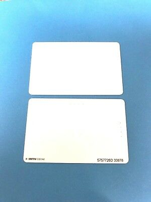 NEW Qty of 50 Printable PVC Proximity Cards, HID1386 Equivalent, Format 26D