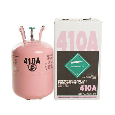 (1) R410A  25 lb.new factory sealed We ship our refrigerant legally!! SAME DAY!!