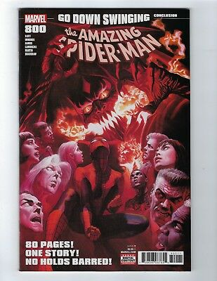 Amazing Spider-Man # 800 Alex Ross Cover NM