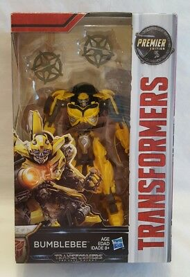 Transformers Premier Deluxe Edition The Last Knight Bumblebee NIB
