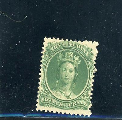 Nova Scotia 1860  Scott# 11. mint LH