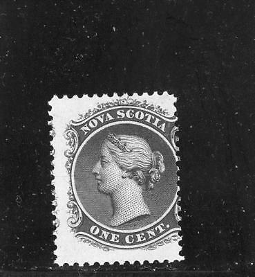Nova Scotia 1860  Scott# 8 mint LH