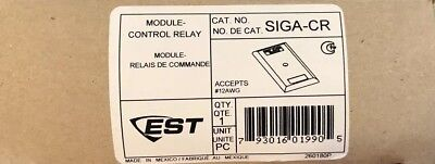 New! EST Edwards SIGA CR Control Relay Module Fire Alarm - Free Shipping
