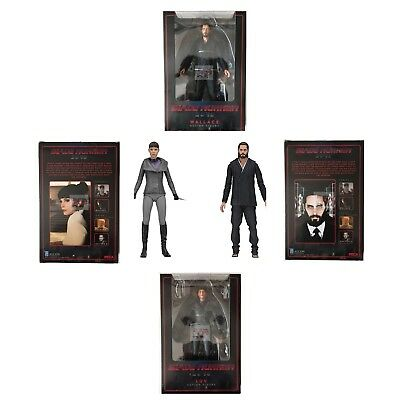 "WALLACE & LUV Blade Runner 2049 SET of 2 NECA Series 2 2018 7"" Inch Figures"