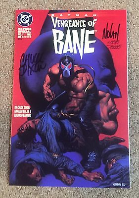 BATMAN VENGEANCE OF BANE #1 FIRST APPEARANCE OF BANE SIGNED VF+ Warehouse Find