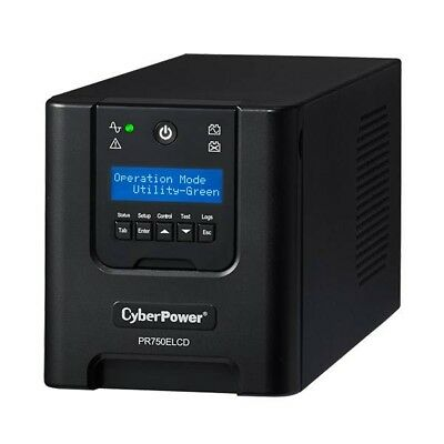 CyberPower PR750ELCD Professional Tower 750VA/675W UPS
