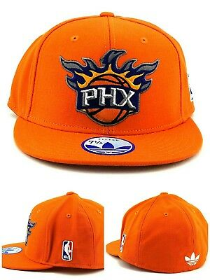 competitive price 6f850 a1798 Phoenix Suns Adidas NBA New Primary Team PHX Orange Purple Fitted Era Hat  Cap