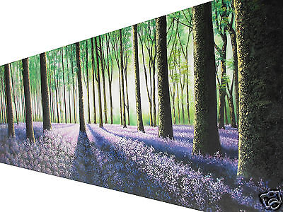 art painting landscape canvas tree forest woods aboriginal  2.1m x70cm large