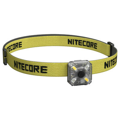 Nitecore NU05 Kit USB Rechargeable 35 Lumens White Red LED Headlamp