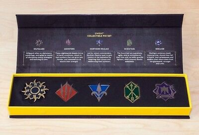Gwent Collector's Pins / Pin - The Witcher - Gamescom exclusive