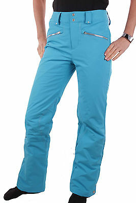 SPYDER LADIES 154503-425 Ski Pants Me Tailored Fit Pant Blue