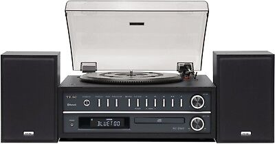 Teac MC-D800 All-In-One System CD Player Turntable Bluetooth FM AM MCD800