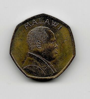 World Coins - Malawi 50 Tambala 1996 Coin KM# 30
