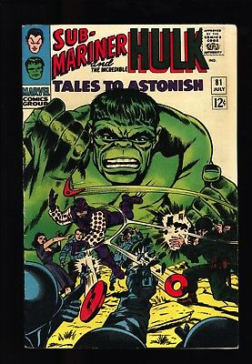 Tales to Astonish #81 FN OW-W pgs 1st app of Boomerang Original Owner Collection