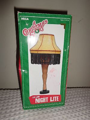 NECA A Christmas Story Leg Lamp Night Light New In Box! Works!