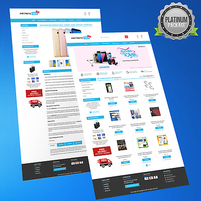 Mobile Responsive Ebay Store Design & Auction Listing Template New HTTPS 2018