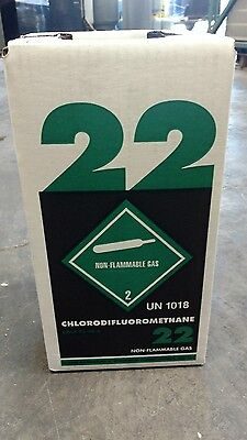 NEW R22 refrigerant 5 lb. factory sealed Virgin made in USA LOCAL PICK UP ONLY