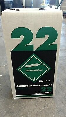 NEW R22 refrigerant 15 lb. factory sealed Virgin made in USA LOCAL PICK UP ONLY