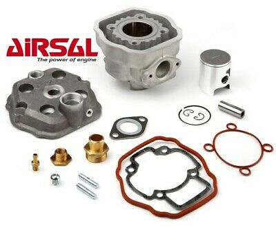 Airsal 70cc Cylinder and Head Kit for LC Piaggio