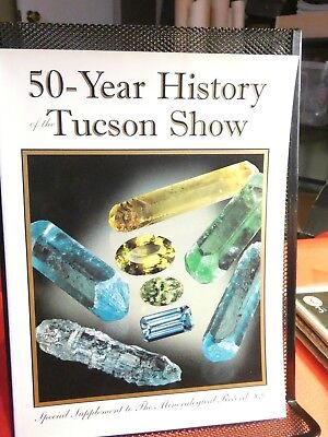 50 Year History of Tucson Show Mineralogical Record with Great Pictures