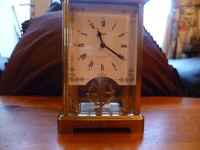 Vintage Brass Carriage Clock spares or repairs