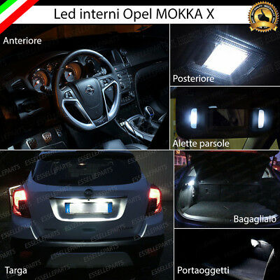 Kit Led Interni Opel Mokka X Facelift Conversione Completa + Led Targa Canbus