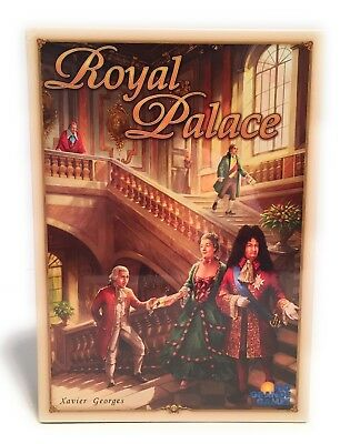 Royal Palace  Rio Grande Games Board Game Xavier Georges 2008