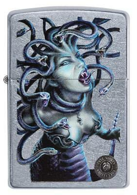 Zippo Windproof Anne Stokes Madusa Fantasy Snakes Lighter 29573, New In Box