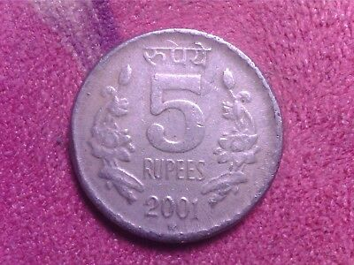 India  5   Rupees   2001   2001   Fr