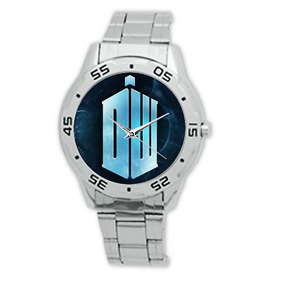 Men's Doctor Who Logo Watch Stainless Steel Great Budget Gift Unique Style
