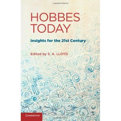Hobbes Today: Insights for the 21st Century. Hardcover 9781107000599 Cond=LN:NSD