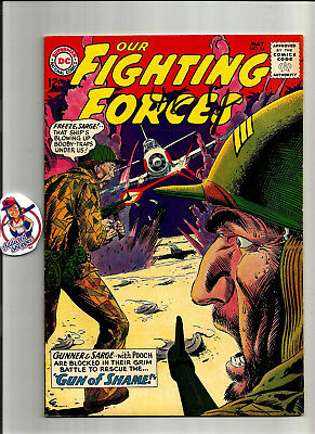 Our Fighting Forces Gunner Sarge #84 DC Comic Book 1964 Classic War (VG/FN 5.0)
