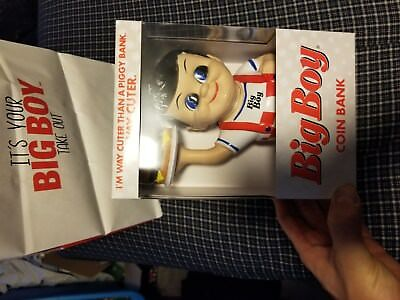 Bob's Big Boy Brand New Coin Bank Collectible Rare Item!