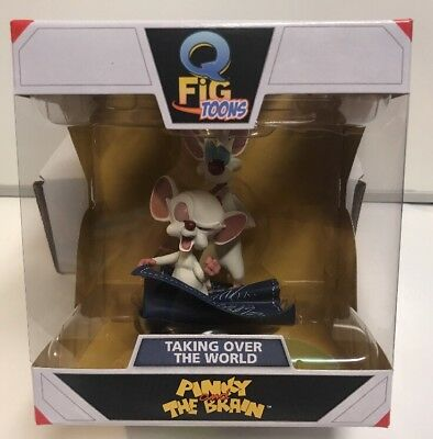 Qmx Pinky & The Brain Taking Over The World Q Fig Toons , New