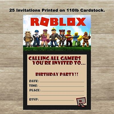 fortnite fill in birthday invitations quantity of 25 fast
