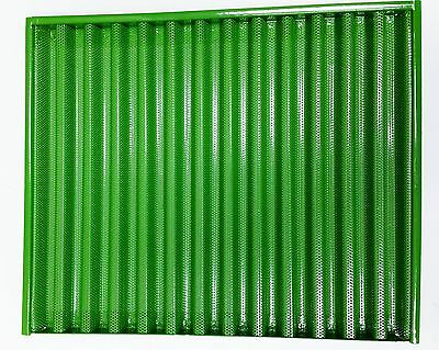 Painted to fit John Deere side screen grill 1020 1520 1530 2040 2240 820 830