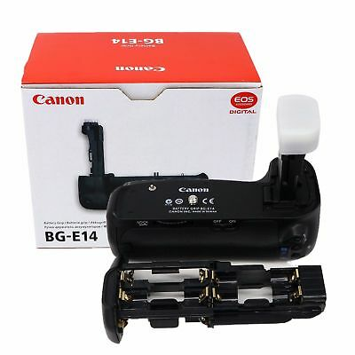 NEW Canon BGE14 Battery Grip for Canon EOS 70D 80D Cameras