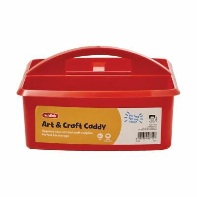 Kadink Art and Craft Caddy Red