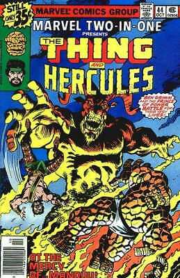Marvel Two-In-One (1974 series) #44 in Very Good condition. FREE bag/board