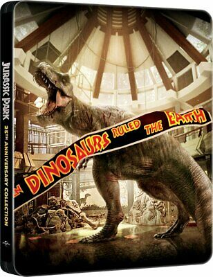 JURASSIC PARK COLLECTION - The Gate Digipack Edition (4 BLU-RAY DISC + GADGET)