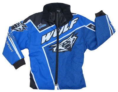 New Kids Wulfsport 3-4 Yrs Motocross Quad Jacket Trials Child Youth Coat PW50